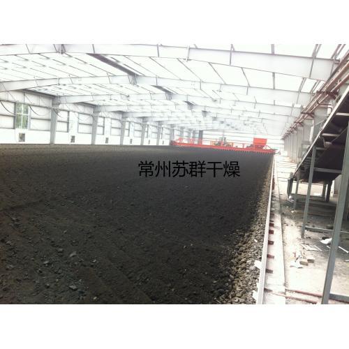 節能太陽能污泥烘幹系統