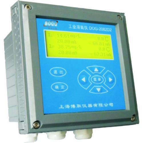 上海双通道溶氧仪,在线溶氧仪,DOG-2082D2