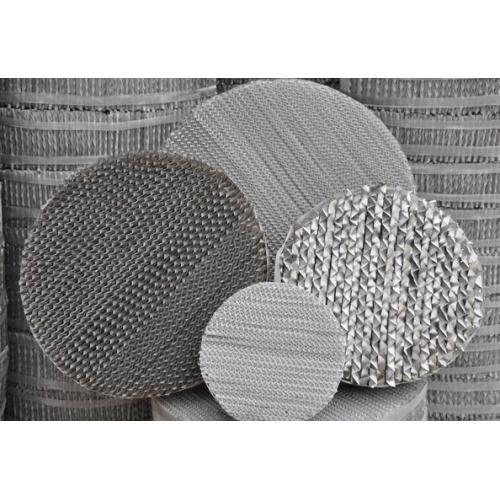 不锈钢压延孔板波纹填料 压延孔板波纹填料