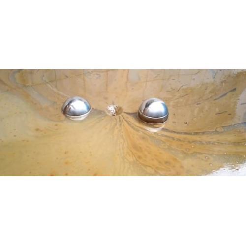 采轩厂30年工业油水分离器浮油吸收机浮油捞除机漂浮式浮油收集