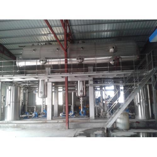MVR水平管降膜蒸发浓缩设备