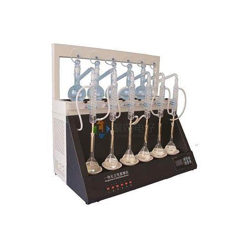 全自动一体化蒸馏仪JTZL-6实验智能型