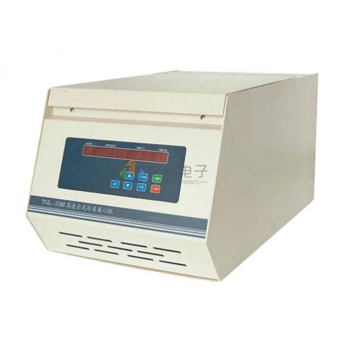 高速冷冻离心机TGL-16MC液晶显示