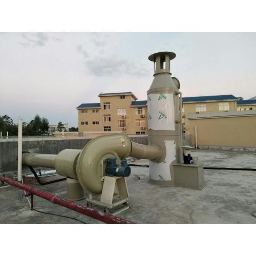 化验室PVC防腐风机通风工程