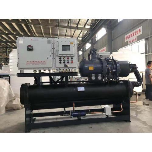 废气降温处理、冷凝回收降温处理等专用冷冻机