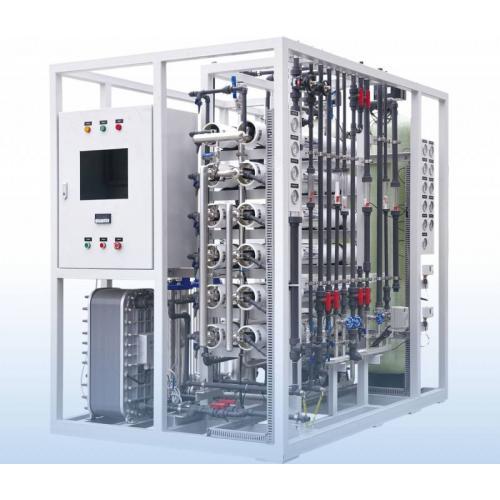 双级反渗透+EDI高纯水制取设备 电阻率15兆欧以上