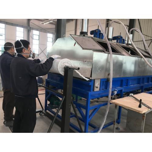 新型、保温隔热材料,WFS负压式纳米气凝胶保温毡生产线