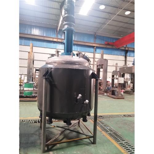 反应釜机械设备 不锈钢反应釜 玻璃胶设备