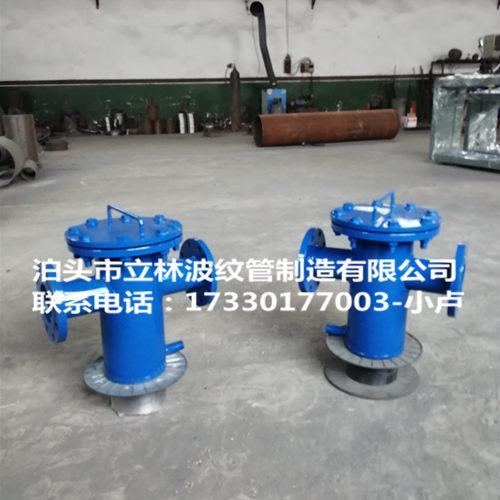 不锈钢焊接式篮式过滤器直通 法兰连接 快速角通除污器DN10