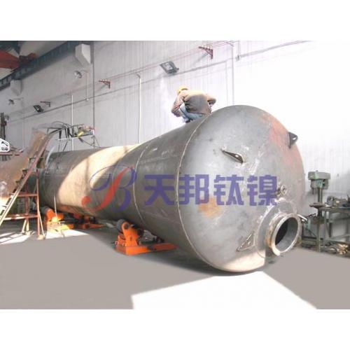 纯钛热交换器用于化工换热器厂家