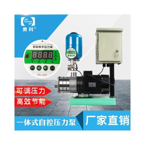 恒压供水设备 全自动小型供水设备 自动缺水保护家用无塔供水器