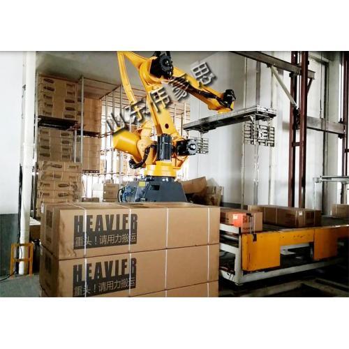 全自动长箱拆垛机械手 自动卸垛机器人