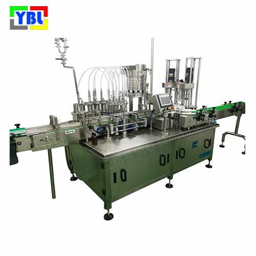 YBL-ZGX-636液体全自动灌装旋盖机一体机械,灌装精度