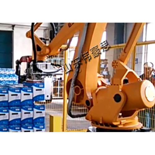 全自动装箱码垛生产线 箱式行业高位码垛机