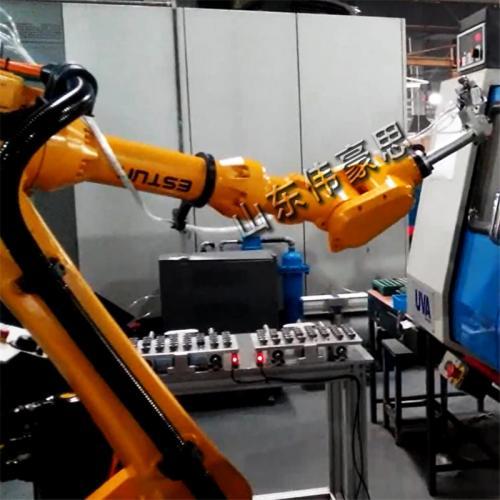 电子元件类上下料机器人 机器人机床上下料