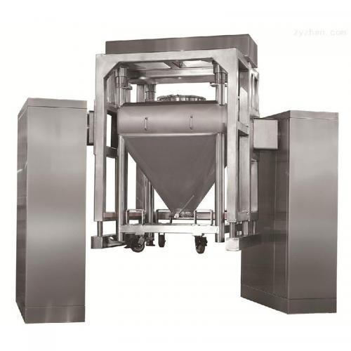 HLD,HZD对夹式自动提升型方锥料斗混合机