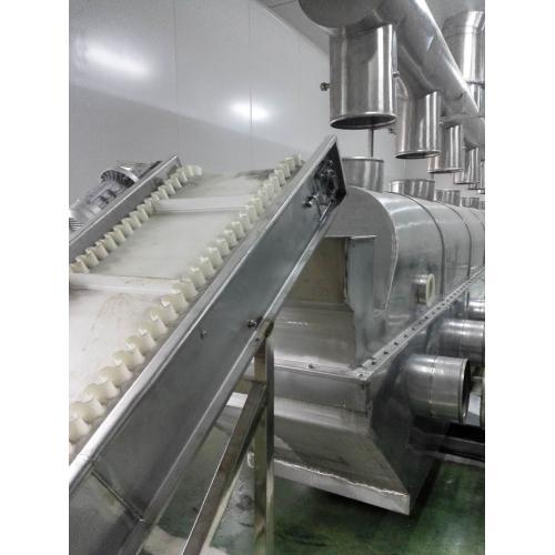 直线节能流化床烘干、冷却流化床制粒