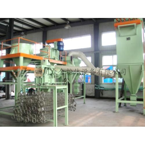 滑石粉鈦白二氧化鈦氧化鋁炭黑超微粉碎機氣流磨沖擊分級機