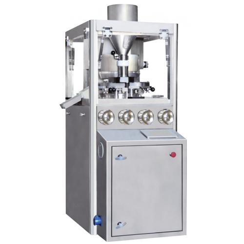 天凡药机·泰博雷特旋转式粉末压片机厂家全自动小型高速压片机