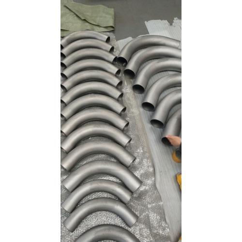 钛镍管件—钛90度弯管半径3D