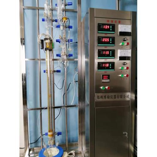 負壓間歇精餾實驗裝置