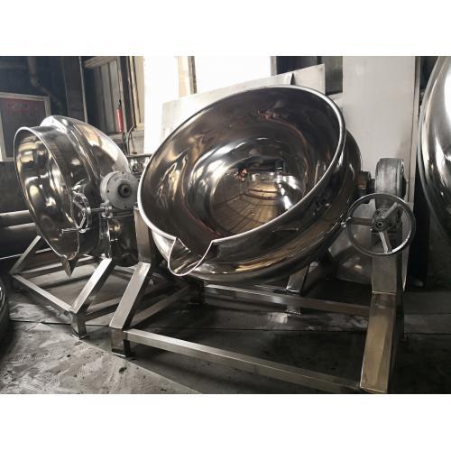 天泰机械不锈钢电加热可倾式夹层锅